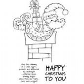 Woodware - Christmas Delivery - Clear Magic Stamp Set - JGS416